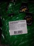 """Tēja """"Golden elephant"""" zaļā paciņās ar diedziņu aploksnēs."""