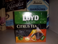 Loyd citrus augļu tēja 20x1.5g