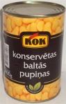 Konservētas baltas pupiņas KOK 0.4l