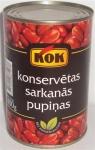Konservētas sarkanas pupiņas KOK 0.4l