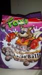 Kukurūzu pārslas Foxi šokolādes bumbiņas 400g