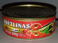 Brētliņas tomātu mērcē 240g