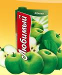 Ļubimij ābolu nektārs 0.95l