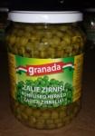 ZAĻIE ZIRNĪŠI STIKLĀ 720ml Granada
