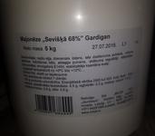 "Majonēze ""Sevišķā 68%"" Gardigan 5kg"