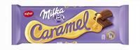 Milka šokolādes tāfelīte karameļu 100g